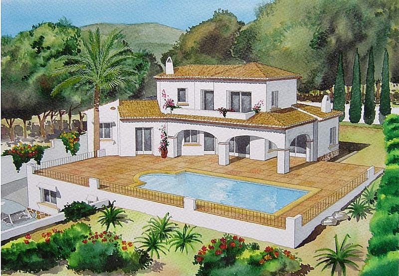 Villa de nueva construcción en proyecto