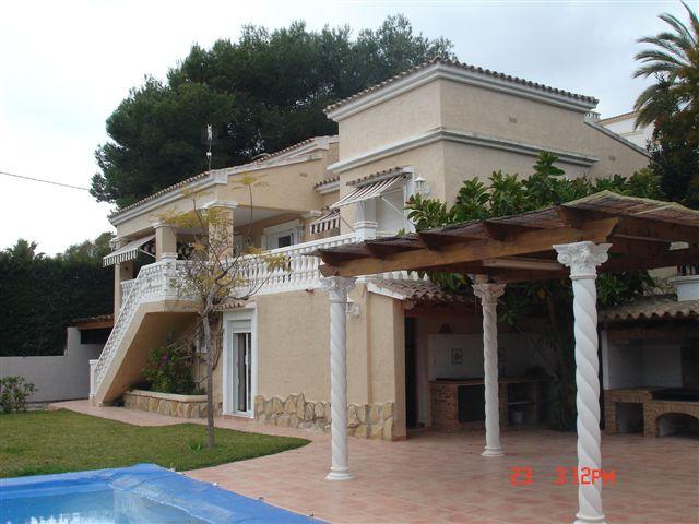 Bonita villa en Moraira