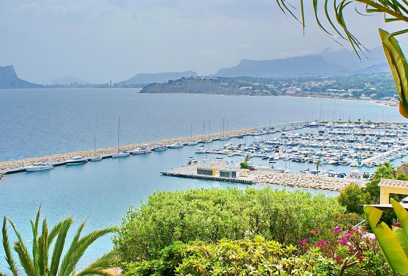 Villa de lujo con vistas panorámicas a la Bahía de Moraira