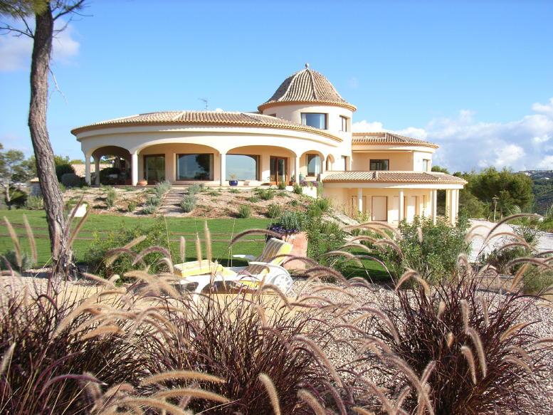 Villa de lujo con espectaculares vistas al mar