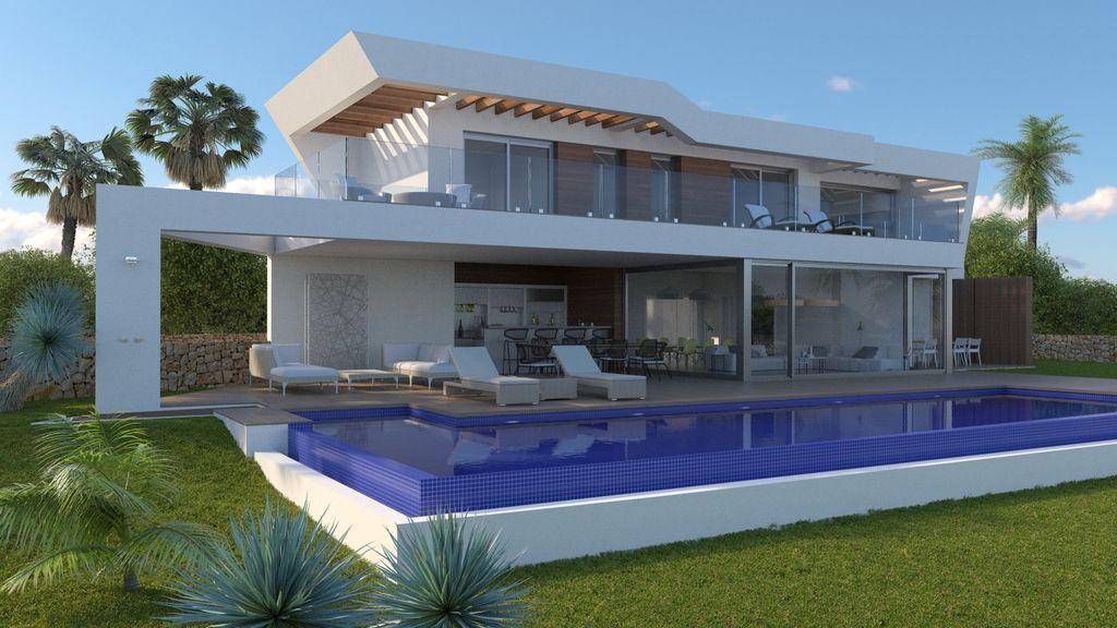 Villa de lujo en proyecto con vistas al mar