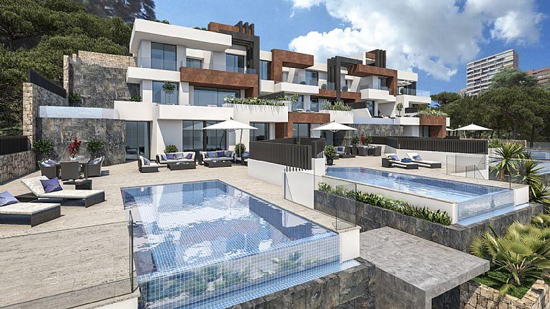 Apartamentos de lujo en primera línea