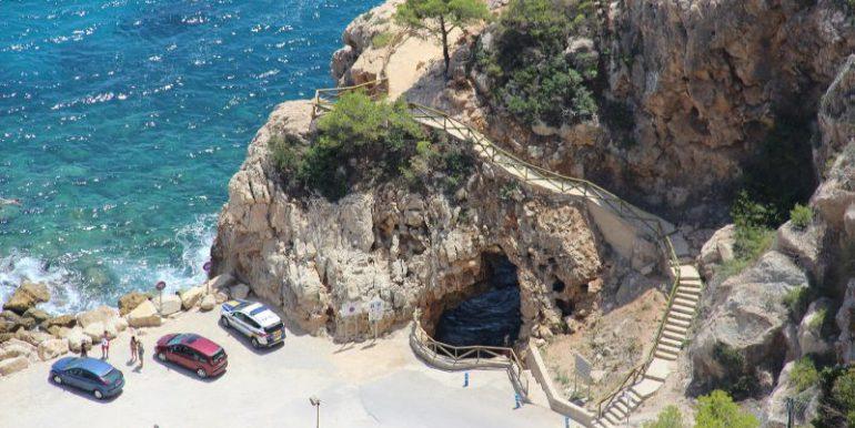 famosa cueva Morach abajo